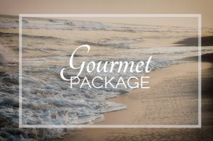 "The ""Gourmet Package"" is perfect for clients looking for a truly gourmet culinary experience, we will pamper you with exquisite meals & snacks all day long."